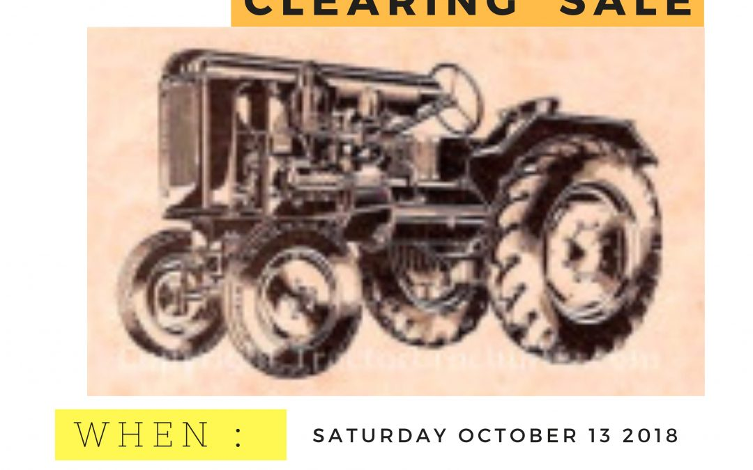Berrigan Community Clearing Sale